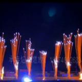 激光灯光音乐焰火表演